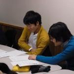 演習に取り組む学生1
